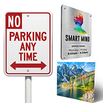 Metal signs - Full color aluminum prints