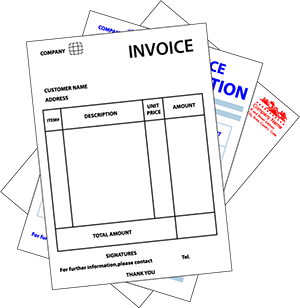1-Color NCR forms