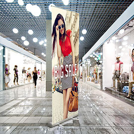 Retractable banner stands & displays