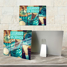 Custom metal prints - full color aluminum prints