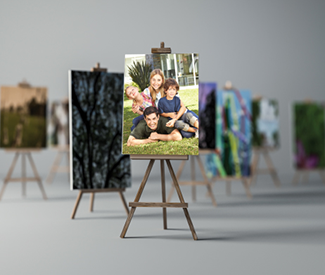 Feature those cherished photos with canvas prints